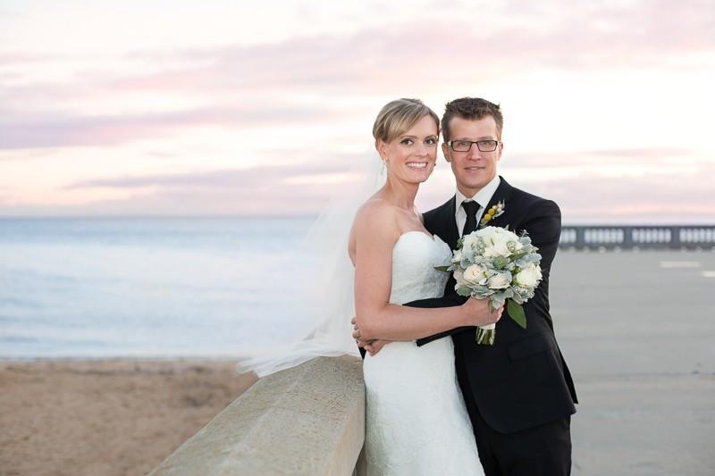 melbourne, wedding, sails on the bay