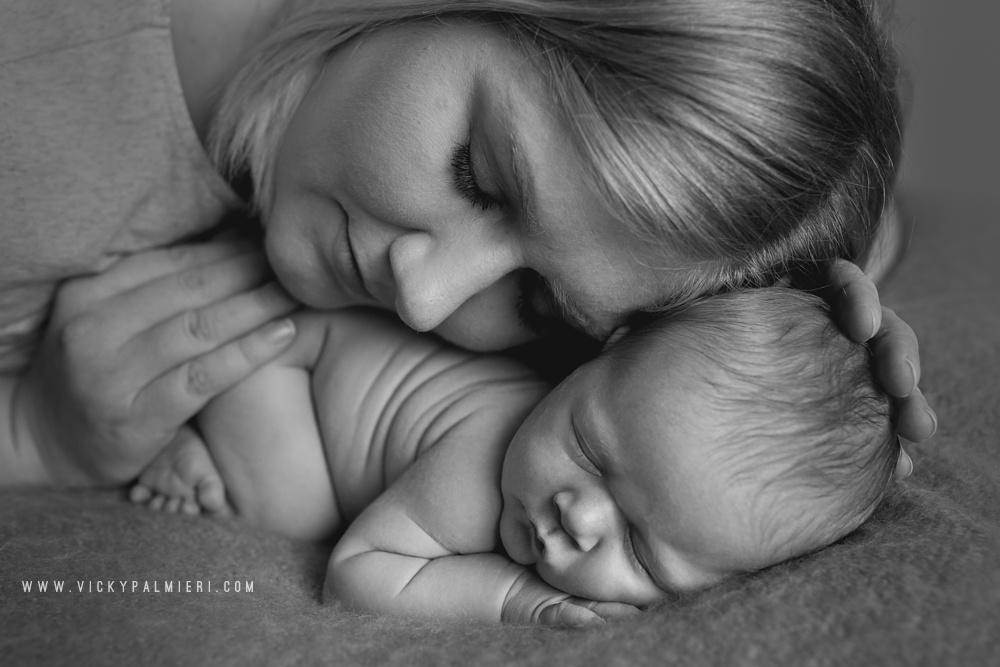 Sleepy Posed Newborn Photography