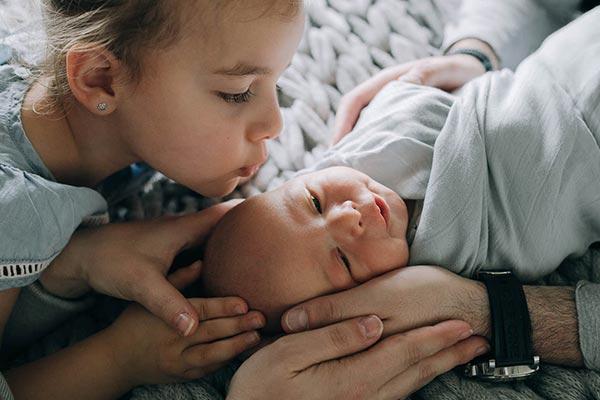 Candid Lifestyle Newborn Photos