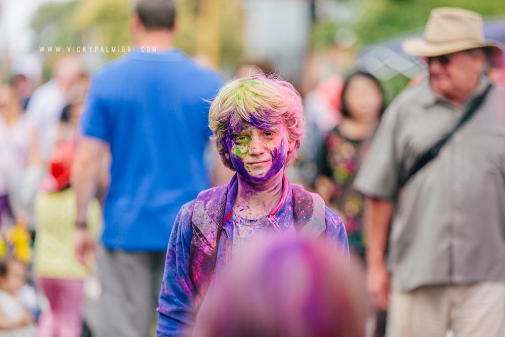 West Footscray festival of colours. Holi Festival.