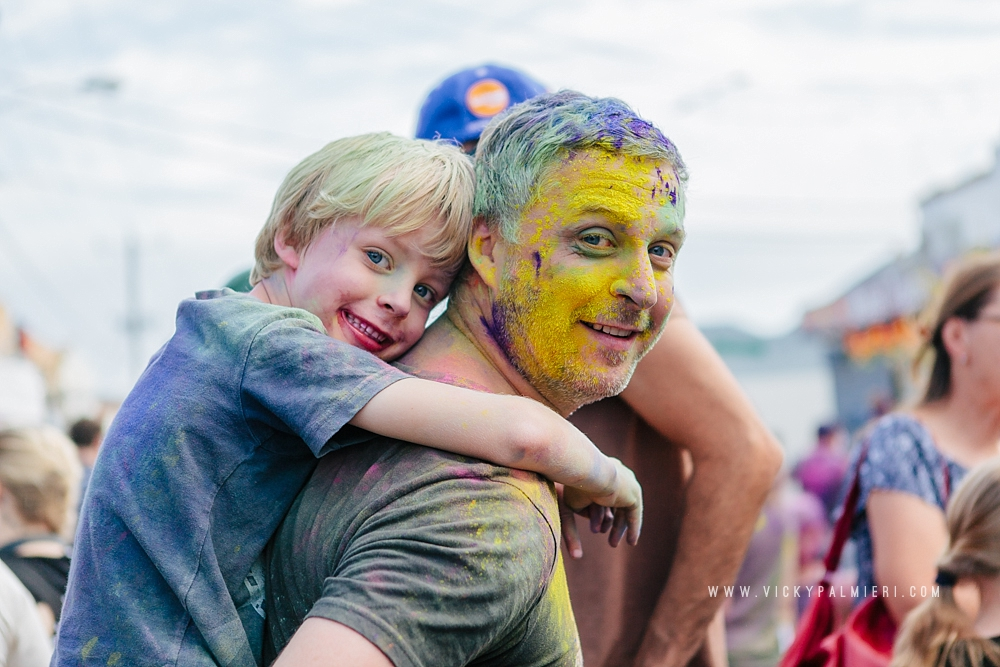 Holi Festival in West Footscray