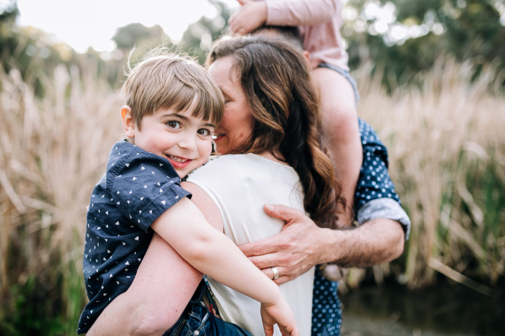 Professional family photography at Pipemakers Park